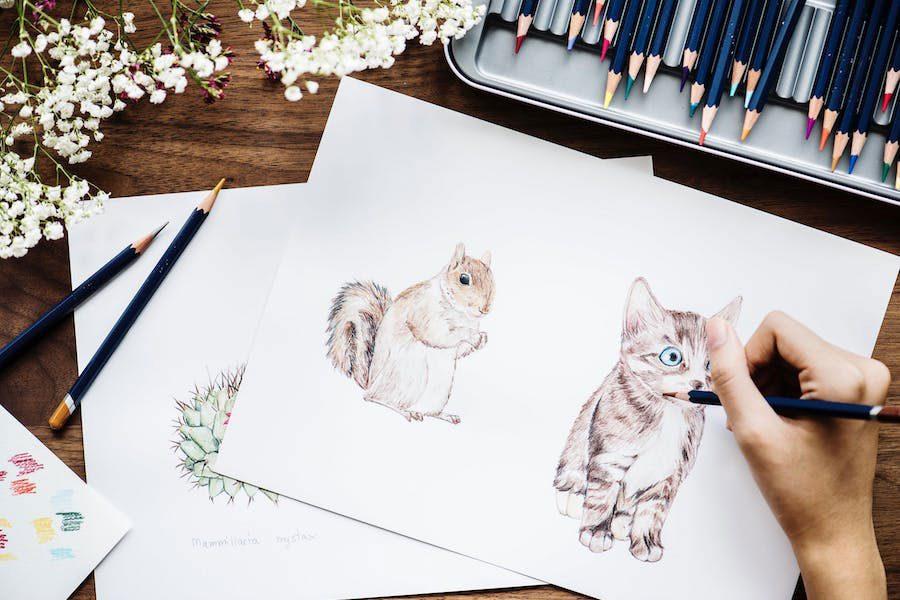 coloring-technique