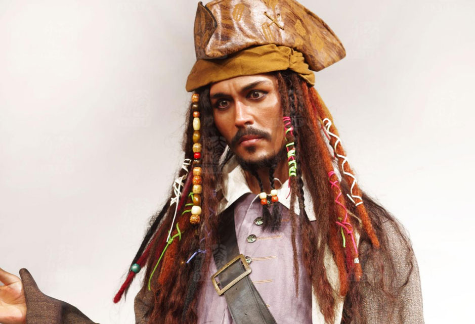 Jack Sparrow wax figure