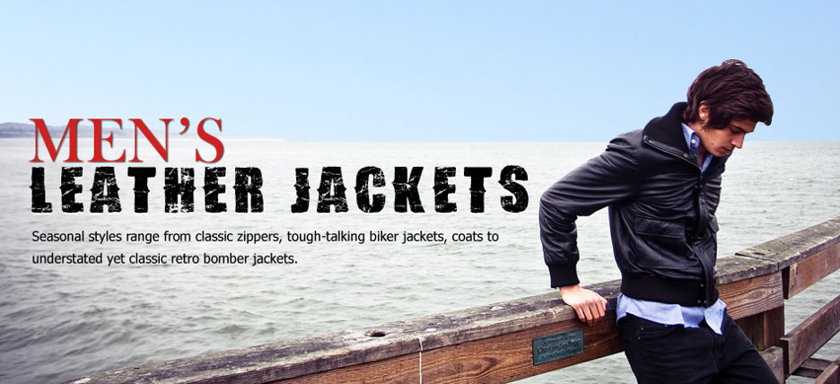 Bomber Leather Jackets
